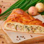 Рецепт вкусного пирога с курицей и грибами