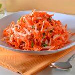 """Салат из моркови """"Бодрость""""- здоровый завтрак для всех"""