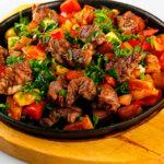 Мясо с баклажанами: рецепт пошагово